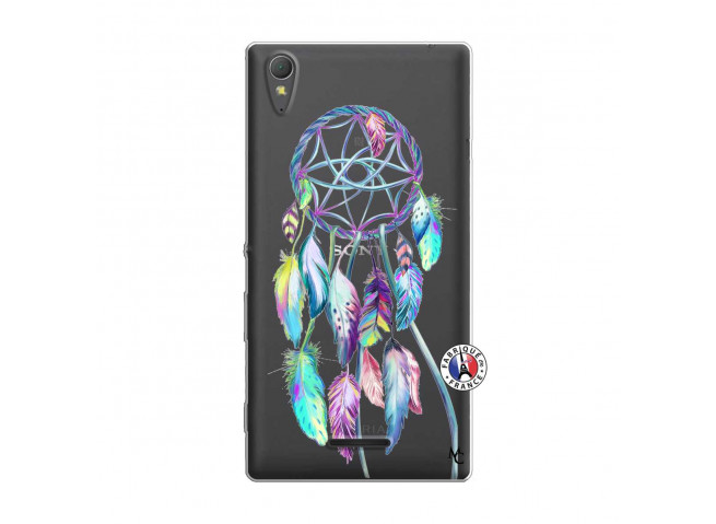 Coque Sony Xperia T3 Blue Painted Dreamcatcher