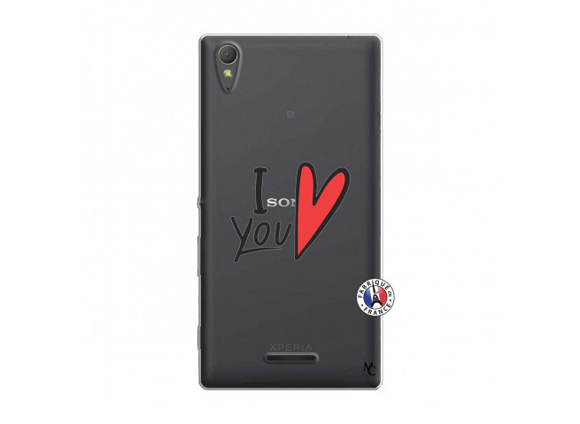 Coque Sony Xperia T3 I Love You