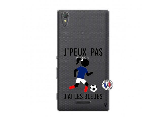 Coque Sony Xperia T3 Je Peux Pas J Ai Les Bleues Maillot