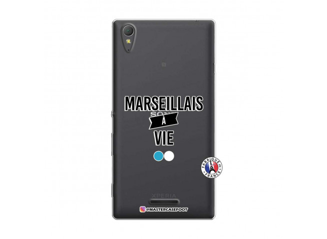 Coque Sony Xperia T3 Marseillais à Vie