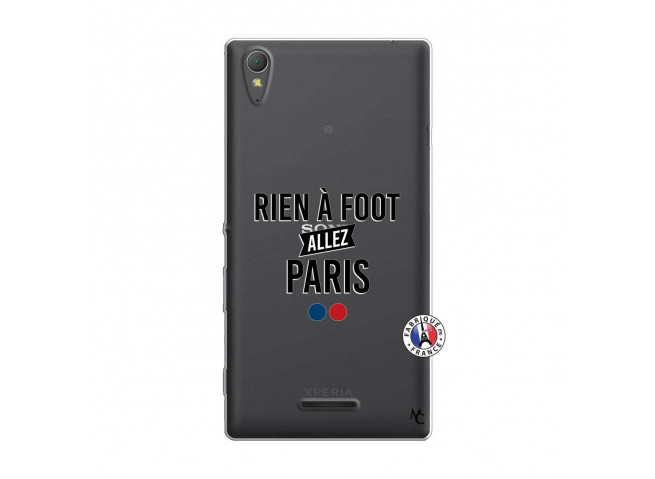 Coque Sony Xperia T3 Rien A Foot Allez Paris