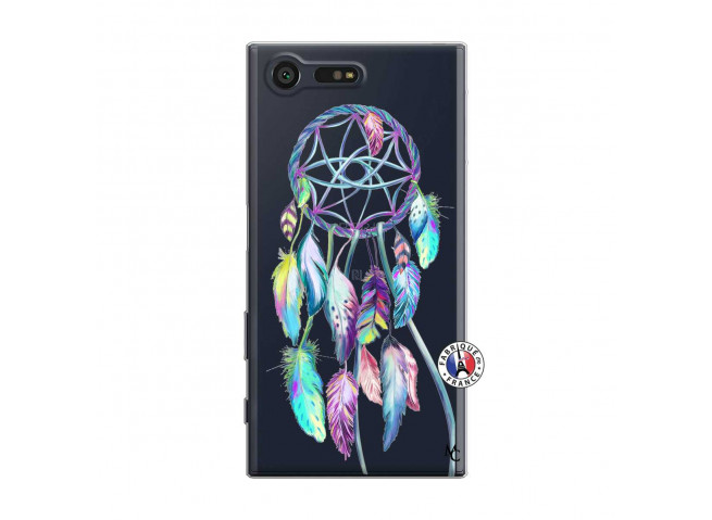 Coque Sony Xperia X Compact Blue Painted Dreamcatcher
