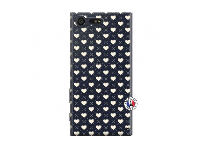 Coque Sony Xperia X Compact Little Hearts
