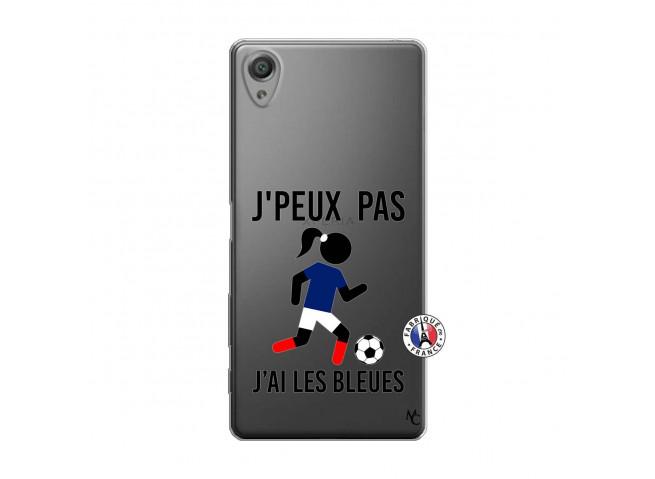 Coque Sony Xperia X Je Peux Pas J Ai Les Bleues