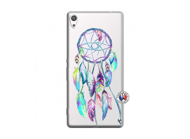 Coque Sony Xperia XA Ultra Blue Painted Dreamcatcher