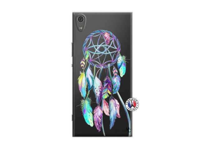 Coque Sony Xperia XA1 Ultra Blue Painted Dreamcatcher