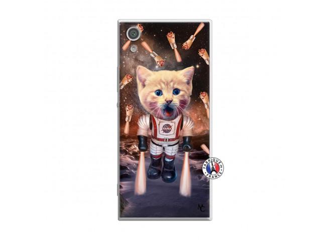 Coque Sony Xperia XA1 Ultra Cat Nasa Translu