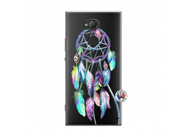 Coque Sony Xperia XA2 Ultra Blue Painted Dreamcatcher