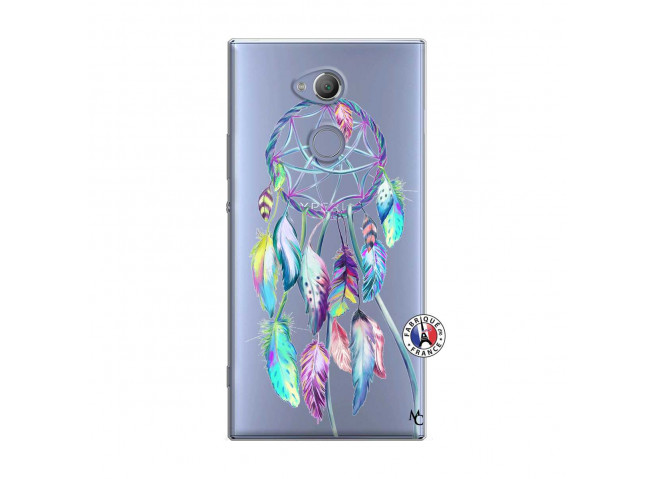 Coque Sony Xperia XA2 Blue Painted Dreamcatcher