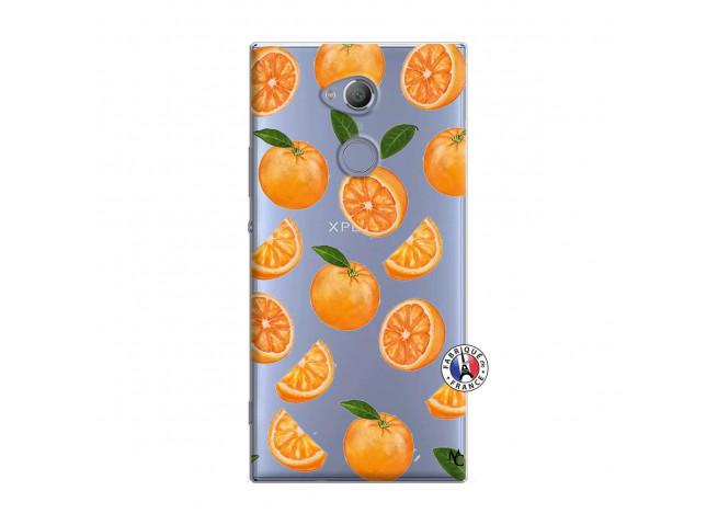 Coque Sony Xperia XA2 Orange Gina
