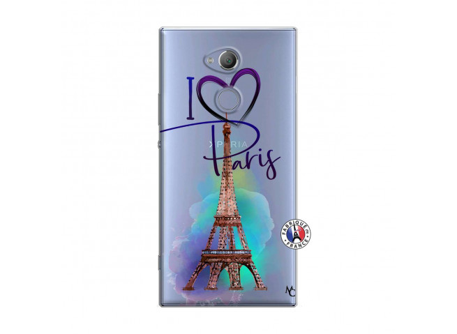Coque Sony Xperia XA2 I Love Paris
