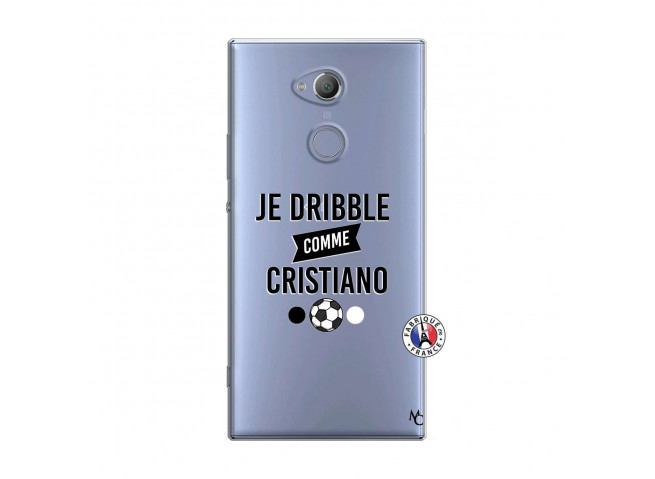 Coque Sony Xperia XA2 Je Dribble Comme Cristiano