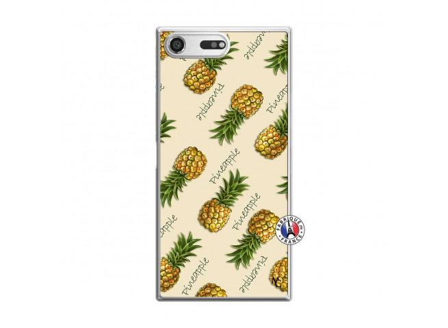 Coque Sony Xperia XZ Premium Sorbet Ananas Translu