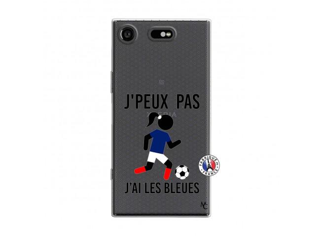 Coque Sony Xperia XZ1 Je Peux Pas J Ai Les Bleues Maillot