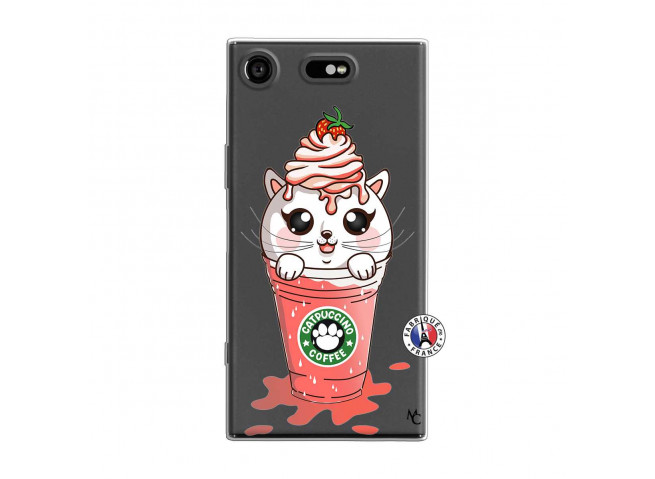 Coque Sony Xperia XZ1 Catpucino Ice Cream