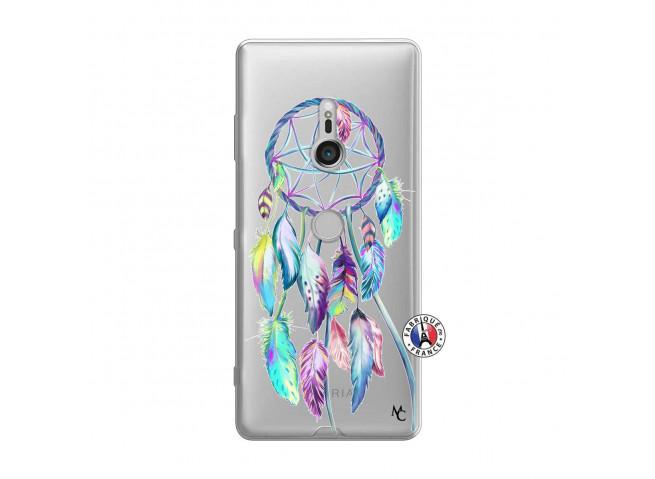 Coque Sony Xperia XZ3 Blue Painted Dreamcatcher