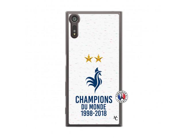 Coque Sony Xperia XZ Champion Du Monde Translu