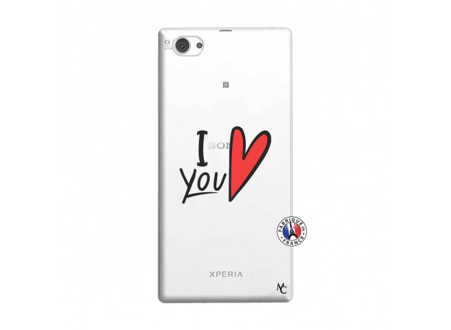 Coque Sony Xperia Z1 Compact I Love You