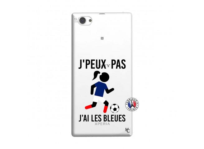 Coque Sony Xperia Z1 Compact Je Peux Pas J Ai Les Bleues
