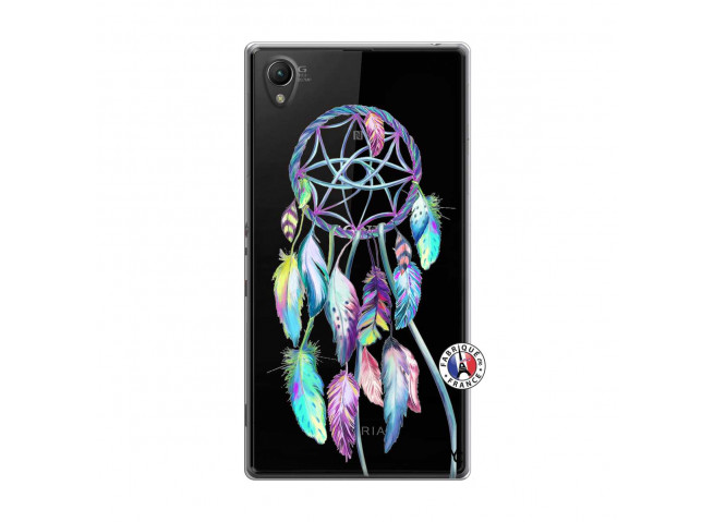 Coque Sony Xperia Z1 Blue Painted Dreamcatcher