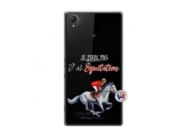 Coque Sony Xperia Z1 Je Peux Pas J Ai Equitation