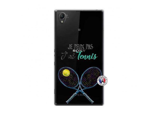 Coque Sony Xperia Z1 Je Peux Pas J Ai Tennis
