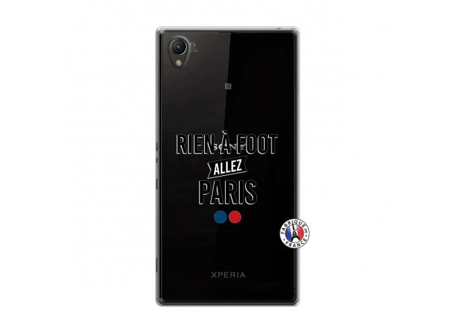 Coque Sony Xperia Z1 Rien A Foot Allez Paris