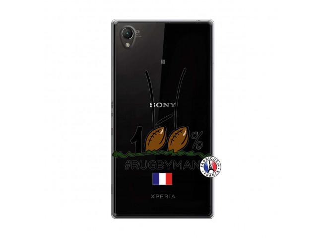 Coque Sony Xperia Z1 100 % Rugbyman Entre les Poteaux