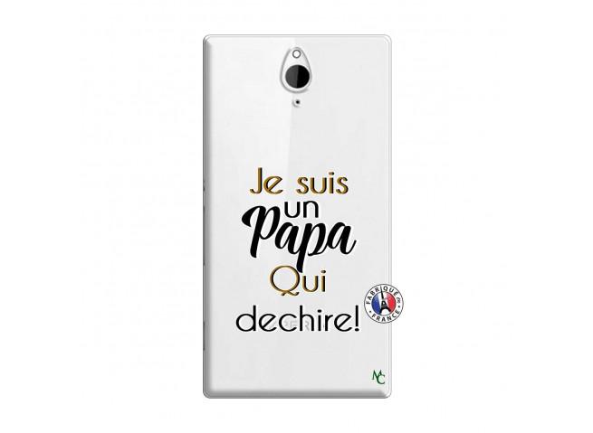 Coque Sony Xperia Z2 Je Suis Un Papa Qui Dechire