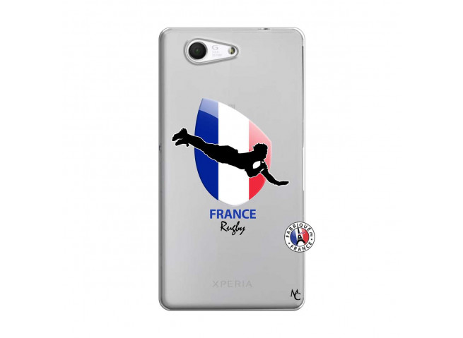 Coque Sony Xperia Z3 Compact Coupe du Monde de Rugby-France