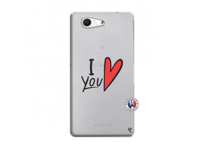 Coque Sony Xperia Z3 Compact I Love You