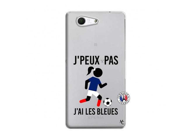 Coque Sony Xperia Z3 Compact Je Peux Pas J Ai Les Bleues