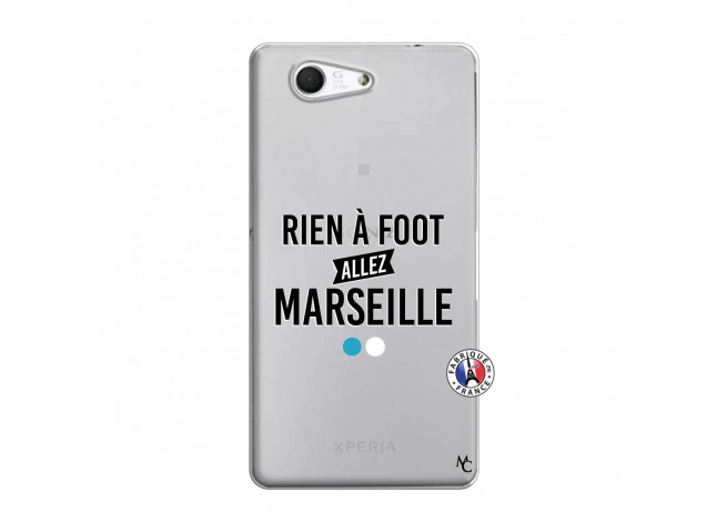 Coque Sony Xperia Z3 Compact Rien A Foot Allez Marseille