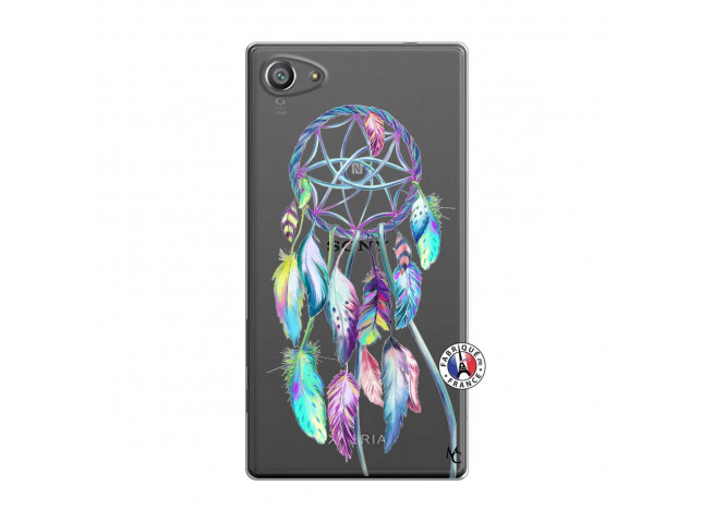 Coque Sony Xperia Z5 Compact Blue Painted Dreamcatcher