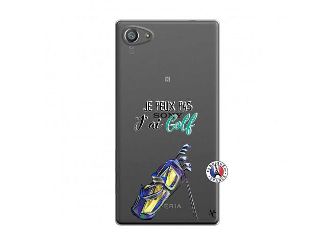 Coque Sony Xperia Z5 Compact Je Peux Pas J Ai Golf