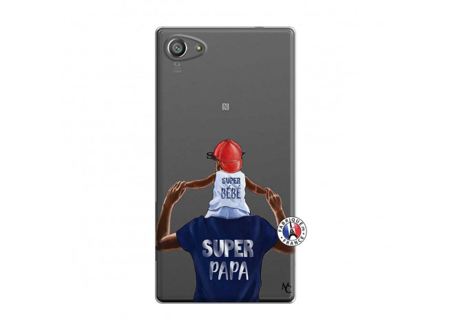 Coque Sony Xperia Z5 Compact Papa Super Heros