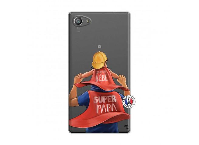 Coque Sony Xperia Z5 Compact Super Papa et Super Bébé