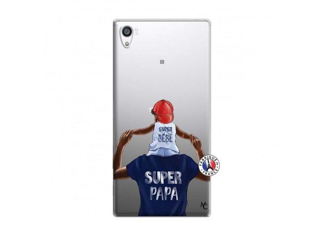 Coque Sony Xperia Z5 Premium Papa Super Heros