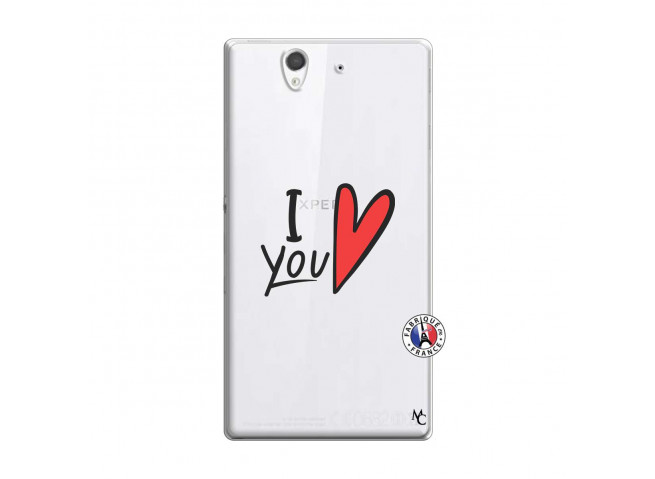 Coque Sony Xperia Z I Love You