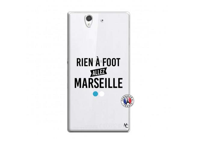 Coque Sony Xperia Z Rien A Foot Allez Marseille