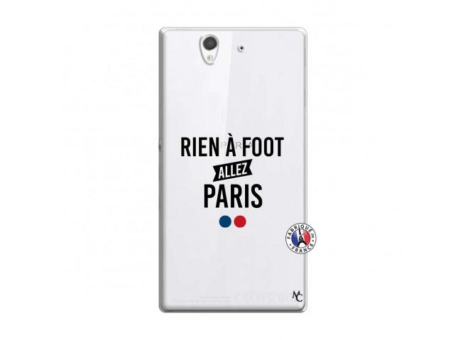 Coque Sony Xperia Z Rien A Foot Allez Paris