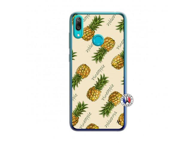 Coque Huawei Y7 2019 Sorbet Ananas Translu