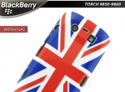 Coque BlackBerry Torch 9860 British Flag