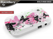 Coque BlackBerry Bold 9900/9930 Butterfly Flex Case