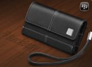 Blackberry etui folio horizontal cuir noir 8520,8900,9300,9320,9360,9520,9700,9780
