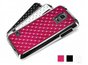 Coque Samsung Galaxy S5 Mini Luxury Leather