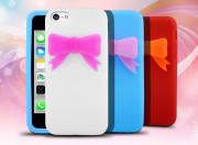 Coque iPhone 5C Petit Noeud