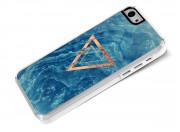 Coque iPhone 5C Blue Wood
