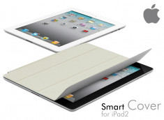 Protection Avant Smart Cover iPad 2 Blanc Cassé