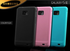 Coque Samsung Galaxy S2 i9100 Color Flex